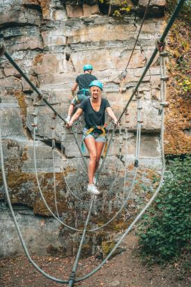 Dinant Aventure : open all year round !